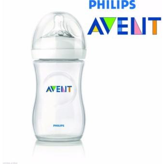 Philips Avent SCF 696/17 330ml/ 11oz Natural Feeding Bottle BPAFree 0-12 months (Clear) Price Philippines