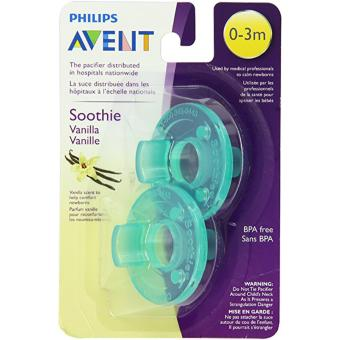 Philips Avent Soothie 0-3m Pacifiers 2-piece Set (Green) Price Philippines