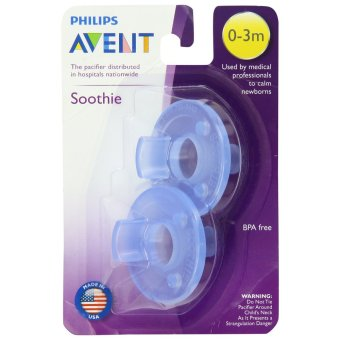 Philips Avent Soothie Pacifier 0-3m (Blue) Price Philippines