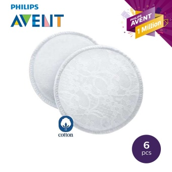 Philips Avent Washable Breast Pads Pack of 6
