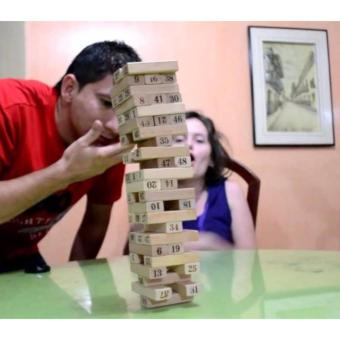 Phoebe's WISS Toy Wooden Plain Jenga (large) Price Philippines