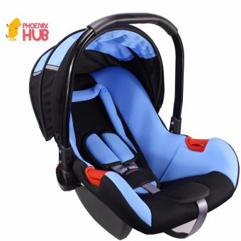 PhoenixHUb Baby car seat Just for Baby Basket Carrier (Blue)