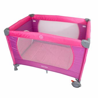 PhoenixHub Cool Baby Crib Nursery Play Yard Playpen Baby Gear(Purple)