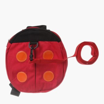Picolo Lady Bug Baby Harness (Red)