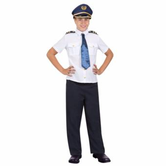Pilot Costume (Medium) (Age 7-8 Years Old)