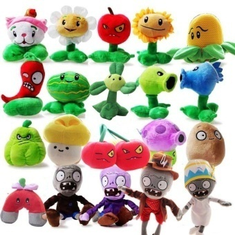 Plants vs. Zombies toy Doll full set plush toys doll gift Creative child gift - intl