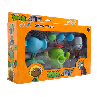 PLANTS VS.ZOMBIES Full Set Launch bullet figurine toys