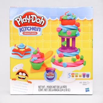 Play-Doh Kitchen Creations Frost In Fun Cakes