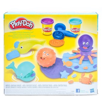 Playdoh Ocean Tools Clay - 2