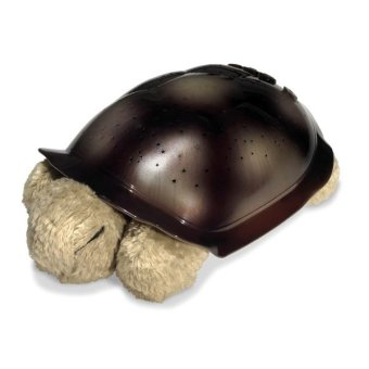 Plush Twilight Turtle Night Light (Avocado Green)