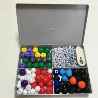 Pontus 240pcs Molecular Structure Building Model Kit Labs ChemistrySet Science Educational Toys Creative - intl - 2
