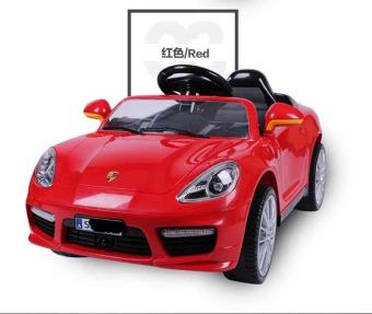 Porsche Car Cayenne Sports Edition 6v Ride On Car for Kids, Boys and Girls(Red)