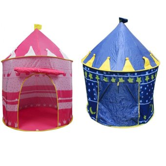 Portable Folding Castle Tent Set of 2 (Multicolor) Price Philippines