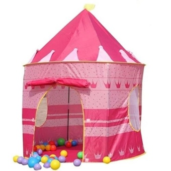 Portable Princess Castle Play Tent Children Activity Fairy Housekids Funny Indoor Outdoor Playhouse Beach Tent - intl