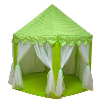 Portable Princess Castle Tent Play House for Kids (Green) Price Philippines