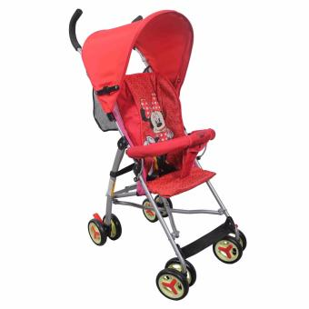 Portable Simple Lightweight Baby Infant Stroller MDQ-322 (Red)