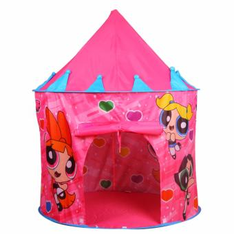 Power Puff Kiddie Castle Tent