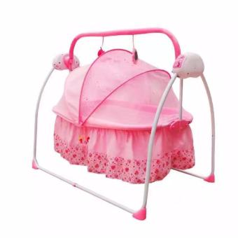Pretty in Pink Soothing Motions Baby Cradle Swing (Pink) Price Philippines
