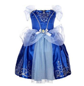 Princess Dress Children Clothing Girl's Dress Lavender - 4