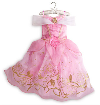 Princess Dress Children Clothing Girl's Dress Pink
