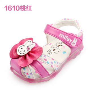 Princess soft bottom girls non-slip toddler shoes Baobao sandals