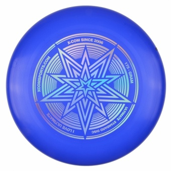 Professional Frisbee Flying Disc For Advanced Player Outdoor SportGame Disc Saucers Blue - intl