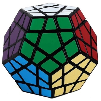 Professional Speed Rubik Cube Smooth Puzzle Megamix - intl
