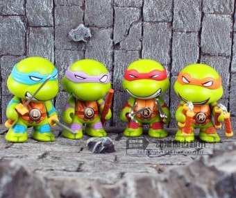 PVC garage kit doll model Ninja Turtles