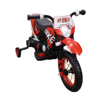 Qike Electric Kids Ride On Dirt Bike Motorcycle (Red)