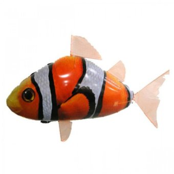 REMOTE CONTROLLED FLYING CLOWNFISH (ORANGE)