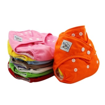 Reusable Washable Adjustable Baby Soft Diaper Nappy Toddler DryTender Care - intl