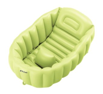 Richell for Babies Baby Bath Tub (Green)