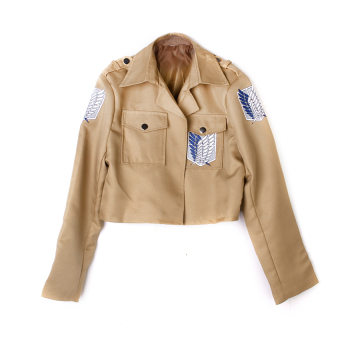 RIS Attack On Titan Wings Of Liberty Jacket Coat Cosplay CostumeSize S