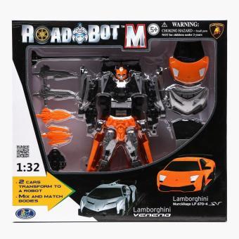 Road Bot M Lamborghini Murcielago & Veneno Transforming Robot