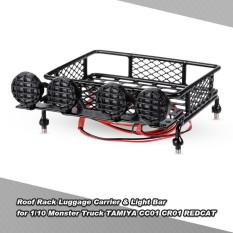 The cheapest price roof rack luggage carrier light bar for 110 roof rack luggage carrier light bar for 110 monster truck rc car crawler aloadofball Image collections