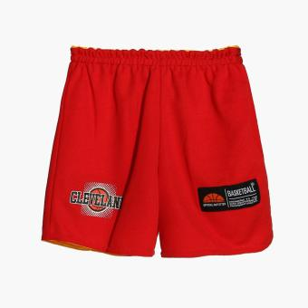 Rookie Boys Cleveland Reversible Jersey Shorts Set (Red) - 4