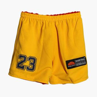 Rookie Boys Cleveland Reversible Jersey Shorts Set (Red) - 5