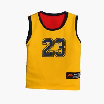 Rookie Boys Cleveland Reversible Jersey Shorts Set (Red) - 3