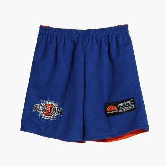 Rookie Boys New York Reversible Jersey Shorts Set (Blue) - 4