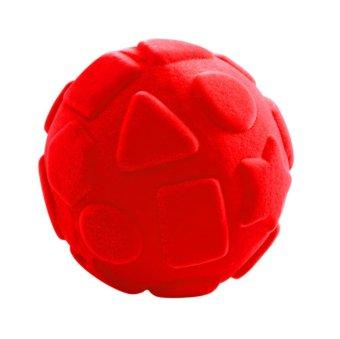 Rubbabu Shapes Ball (Red)