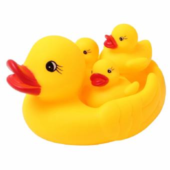 Rubber Race Squeaky Ducks Classic Baby Bath Toy Price Philippines