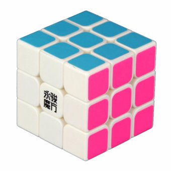 Rubik's 3x3 YJ Guanlong Magic Rubik's Cube Stickerless