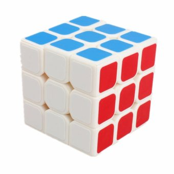 Rubik's QiYi MoFangGe Sail Qihang Speed Cube 3x3 Smooth Magic CubePuzzle White Body No. QY 0932A-5 Price Philippines