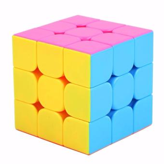Rubik's Yongjun Guanlong Magic Speed Cube Stickerless 3x3x3 VividColors