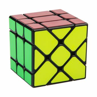 Rubik's Yongjun Speed Fisher Cube Brain Toy Magic Cube Puzzle CubeYJ8318 Black