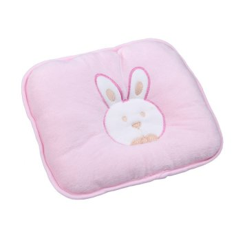 S & F Lovely Soft Infant Baby Pillow Bunny Head Shape Seven-hollow Fibre (Pink) (Intl)