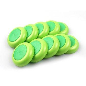 S & F Toy Gun Soft Disc Bullet Set of 10 (Green) (Intl)