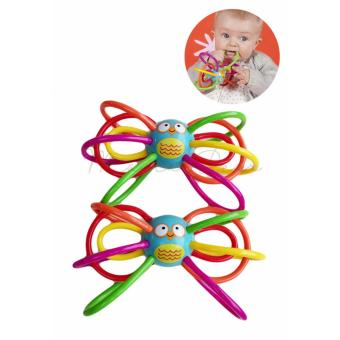 Safe Multifunction Infant Baby Rattle Sensory Teether Ball Activity Learning Toy Christmas Gift