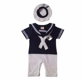 Sailor Romper (Navy Blue) For Baby 18 to 24 Months Old
