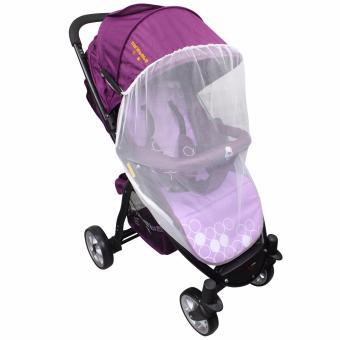 Sanebebe SL-460 Baby Umbrella Style Stroller (Violet) - 5